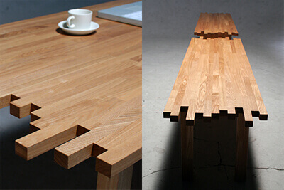 テーブル&ベンチ
